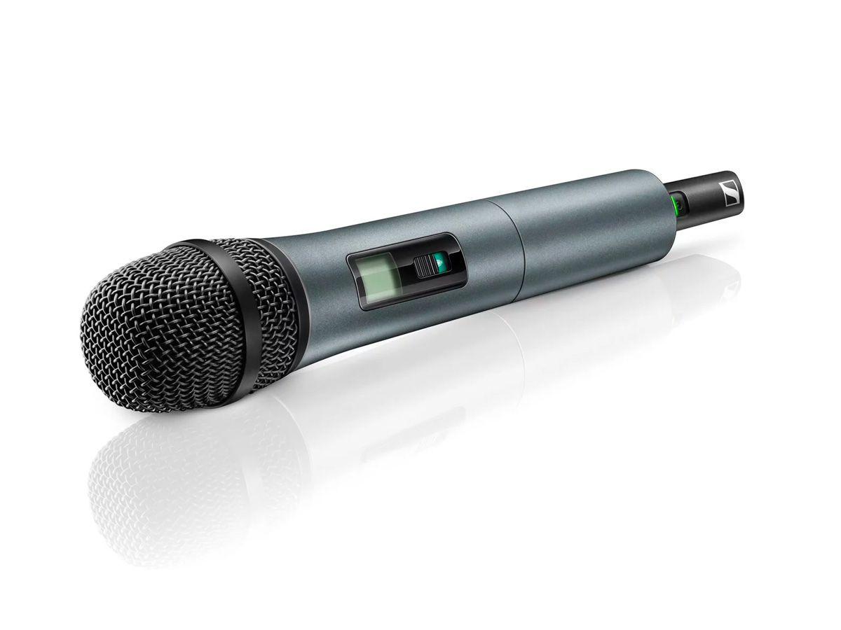 Microfone sem fio de mão, dinâmico e cardioide com UHF A: 548-572 MHz | Sennheiser | XSW 1-825 A
