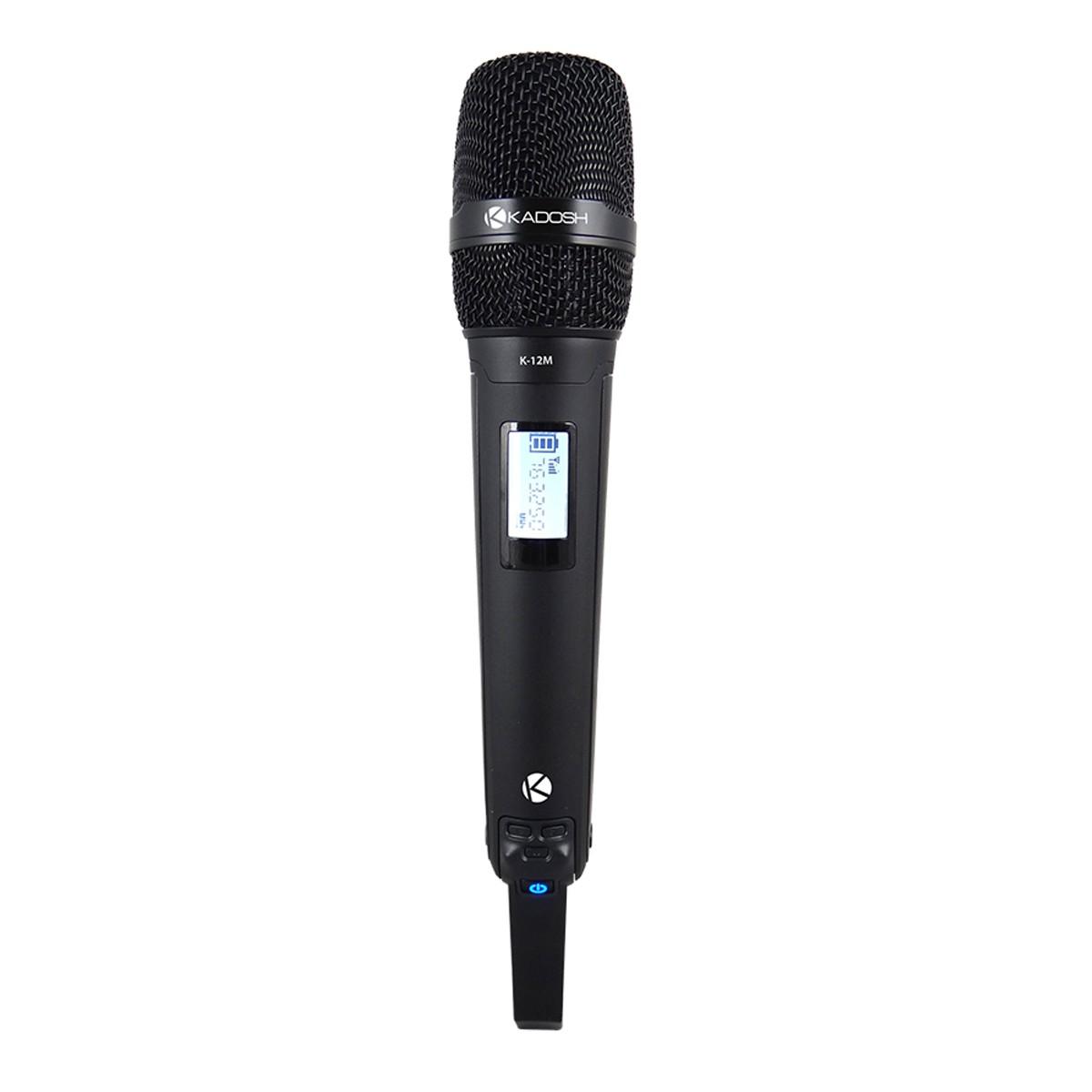Microfone sem fio Kadosh K1201M com 1 Microfone de Mão