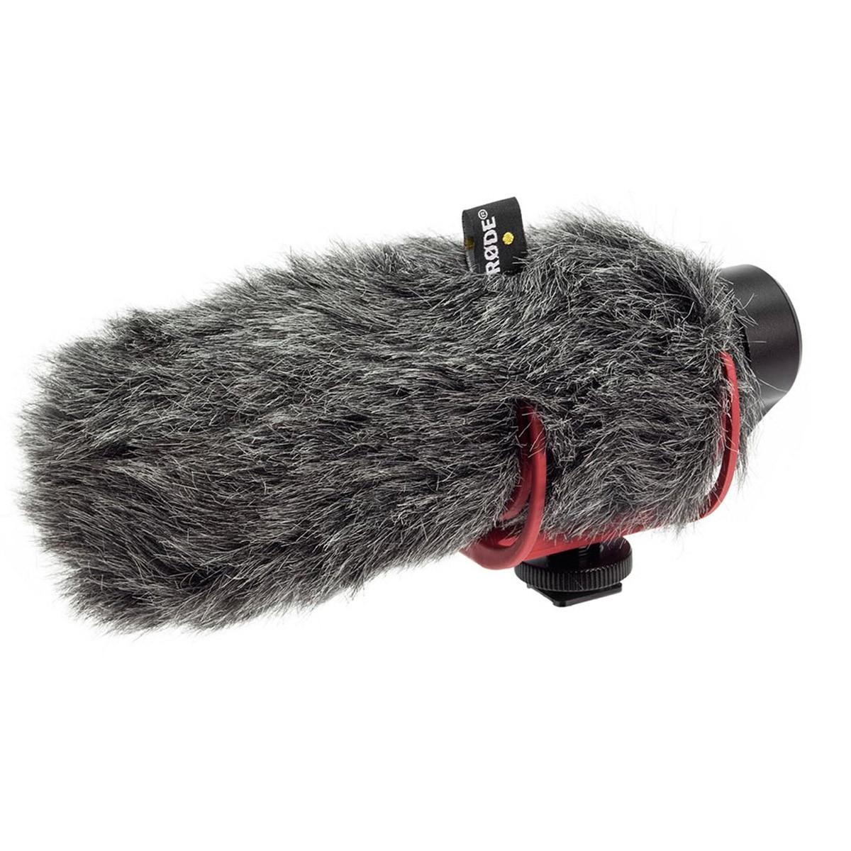 Microfone Shotgun 16cm p/ Câmera RODE Video Mic Go