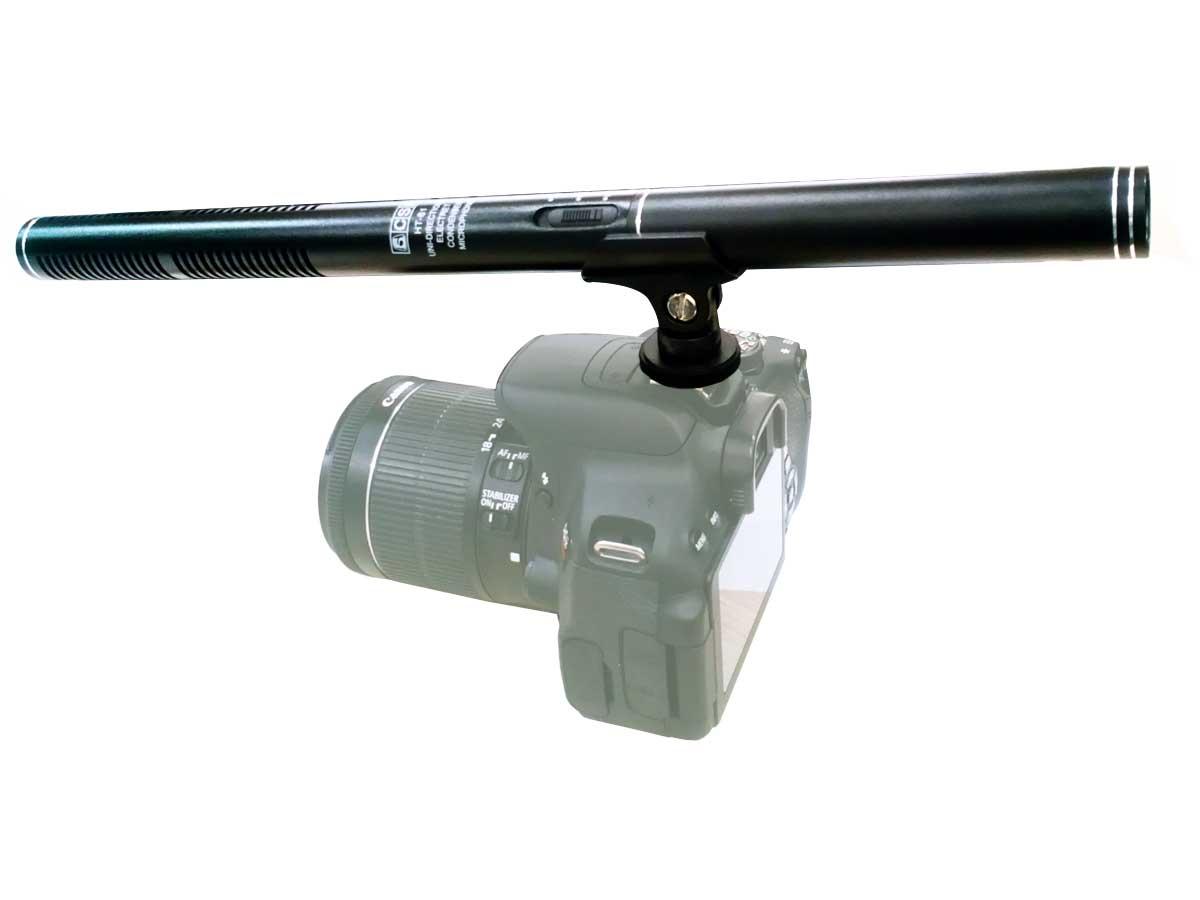 Microfone Shotgun CSR HT81 + Protetor de Vento CSR2016G