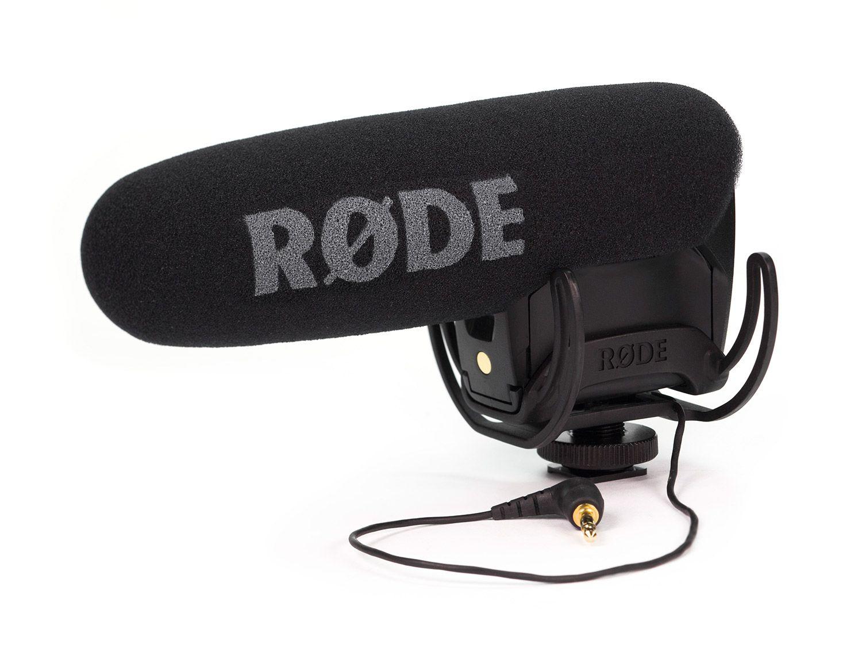 Microfone shotgun p/ câmeras RODE Video Mic Pro Rycote