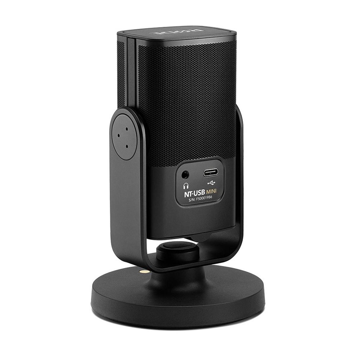 Microfone USB p/ Live, Gravação e Streaming Rode NT-USB MINI