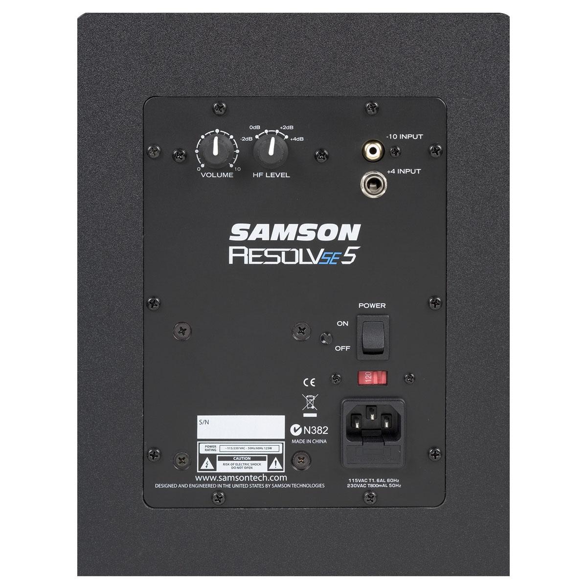 Monitor ativo de Referencia com 70W SAMSON RESOLV 5E5
