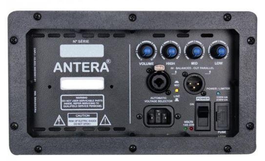Monitor de palco ativo com 150W RMS e alto-falante de 10 polegadas | Antera | MR10A
