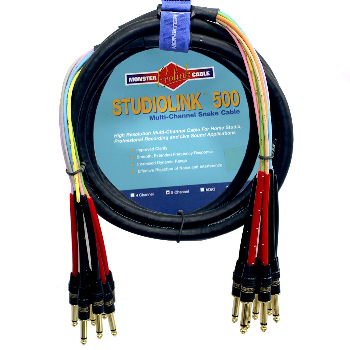 Multicabo 8 vias P10 TS Monster Cable SL500-S8-M-4