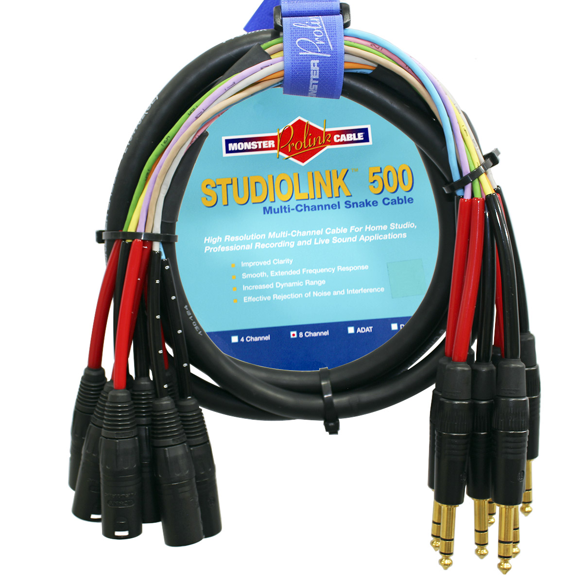 Multicabo P10 TRS X XLR/M Monster Cable SL500-S8-CMX-2