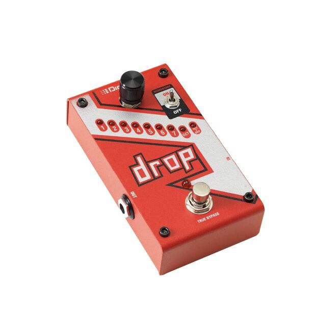 PEDAL THE DROP POLYPHONIC TUNE SHIFTER DROP-V-01 - DIGITECH