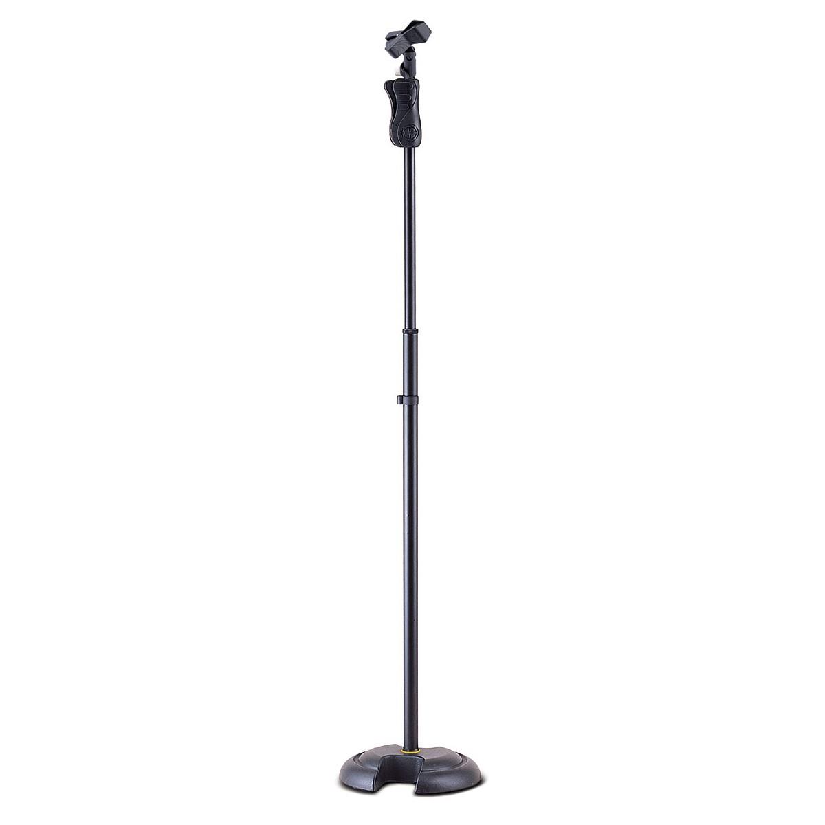 Pedestal base ferro e cachimbo microfone Hercules MS201B