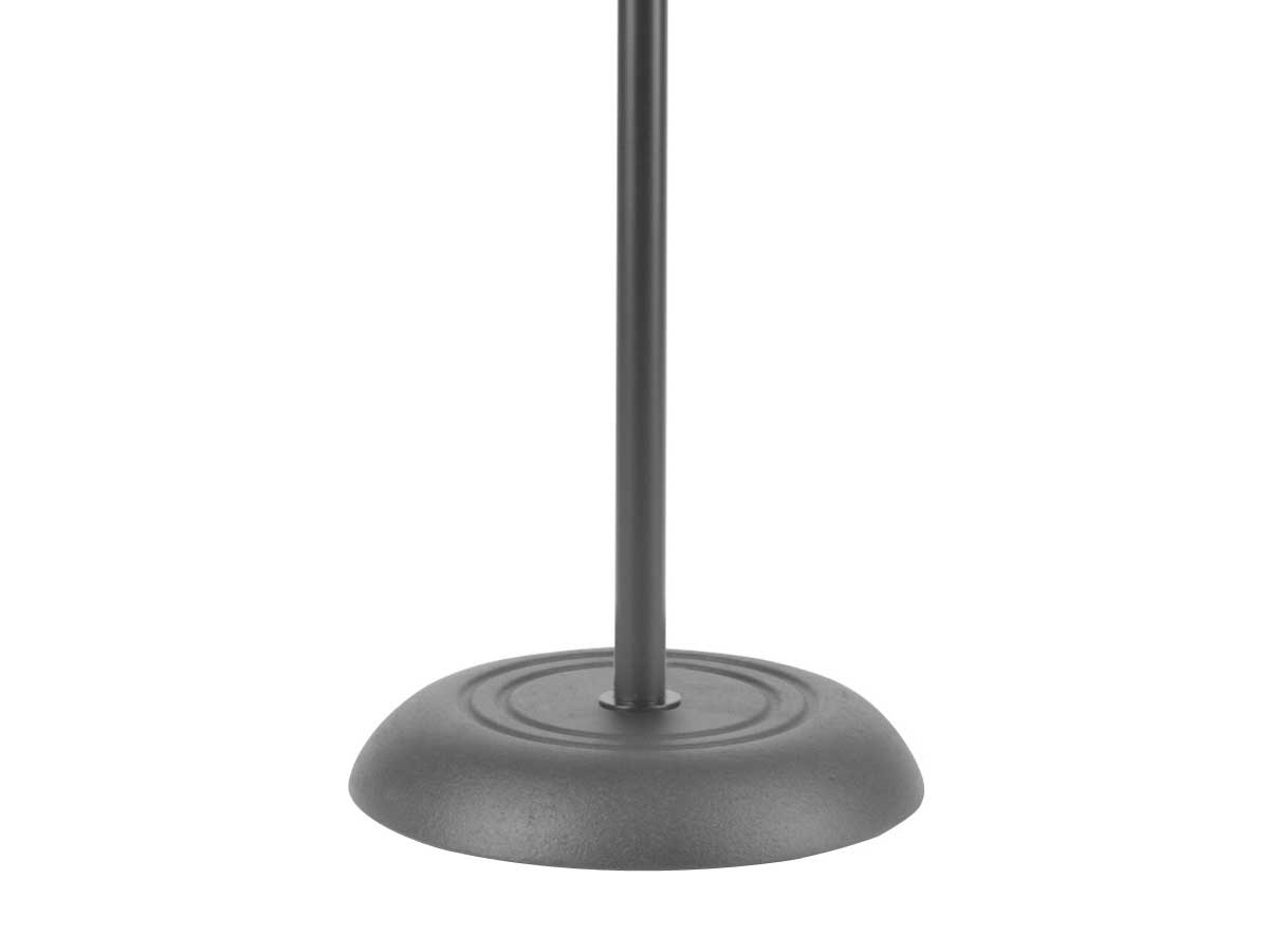 Pedestal com base de ferro para microfone STAGG MIS1120BK