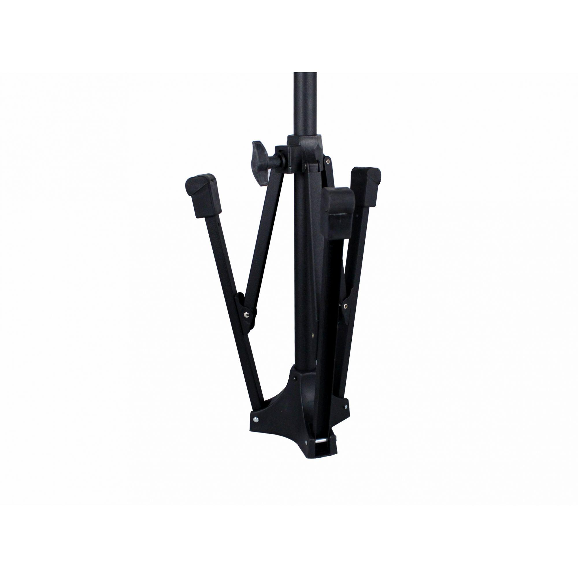 Pedestal para microfone com braço girafa e base articulada | Altura max 2 metros | RMV | PSU0090