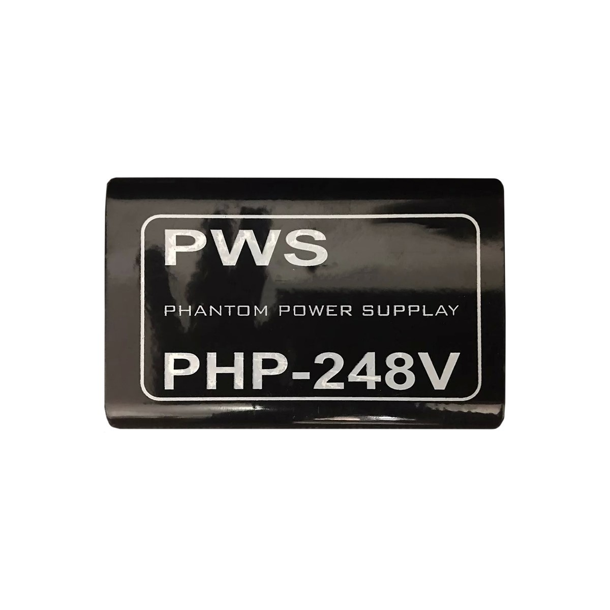 Phantom Power 48v para 2 Microfones PWS PHP–248V