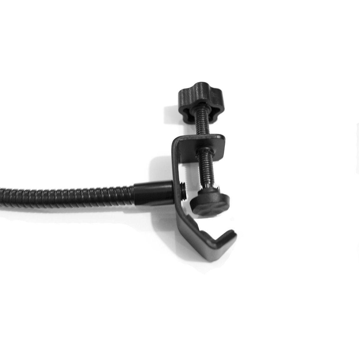 Pop Filter haste flexível e garra para fixação MS15 JIAXI