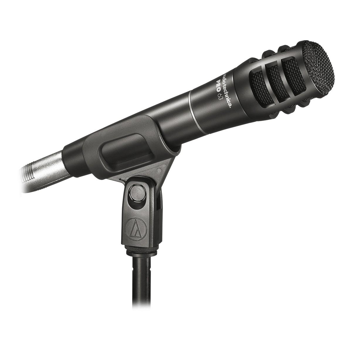 Microfone Dinâmico para instrumento Audio-Technica PRO63