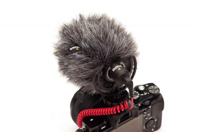 Protetor de vento p/ o VideoMicro VideoMicMe RODE WS9