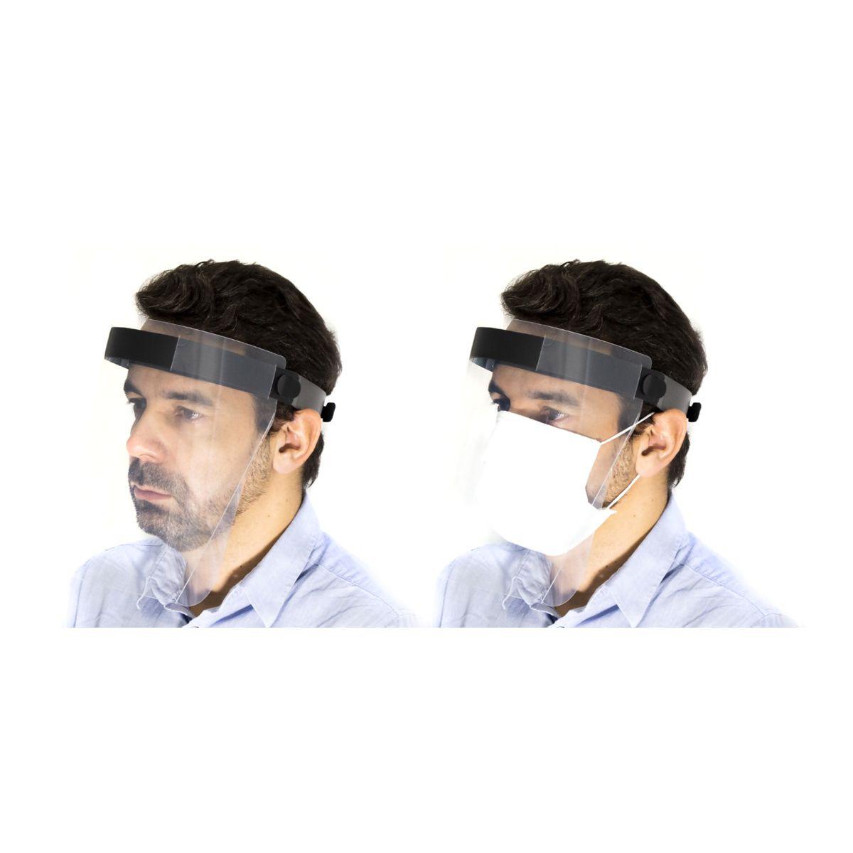 Protetor facial, transparente 300x240mm Izzo 2020PP