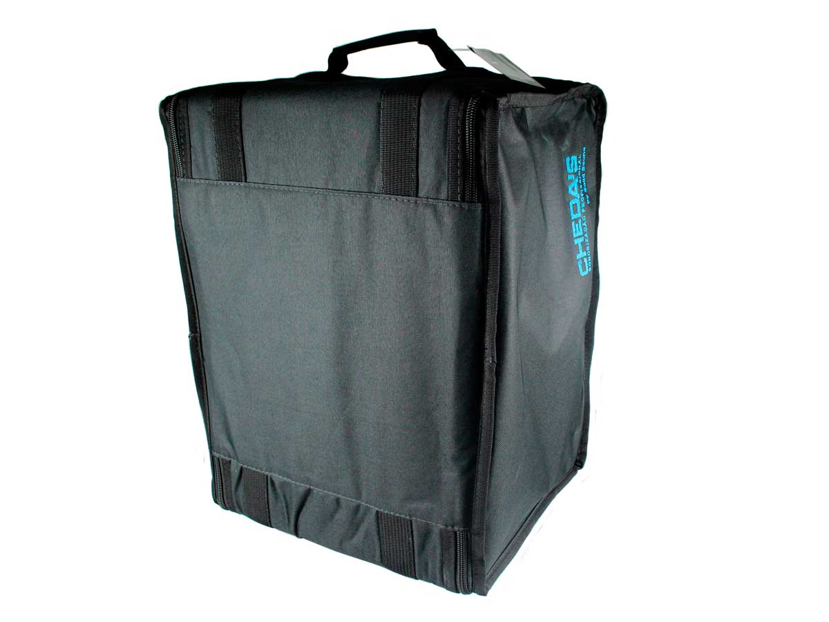 Bag Case 6U espuma e nylon preto Solid Sound BAG6UTPT