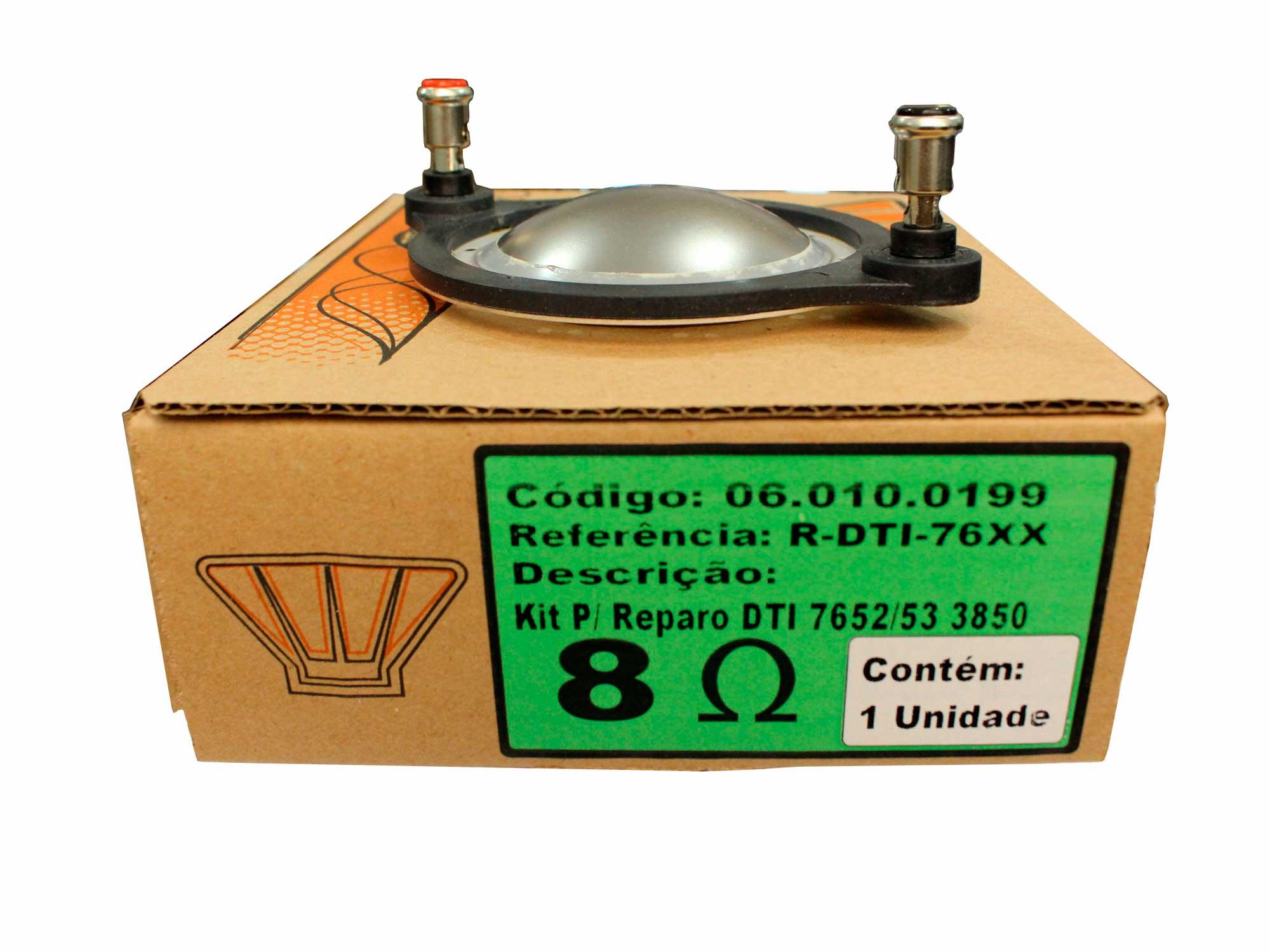 Reparo para Driver DTI 7652, 7653, 3850 em 8 ohms | Oversound | R-DTI-76XX