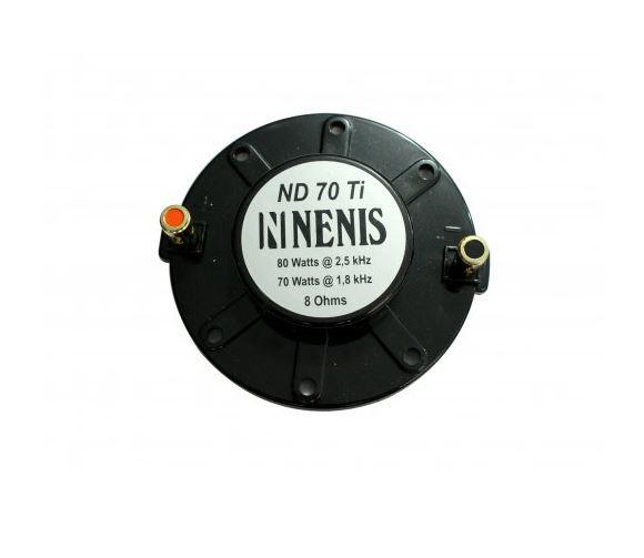 Reparo para Driver Titânio ND70TI Nenis em 8 ohms de 70 a 80 Watts | Nenis | RND70