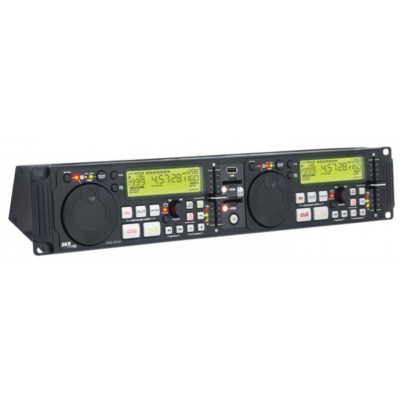 Reprodutor profissional de mídia USB e Cartão SD | SKP Pro Áudio | USD2010