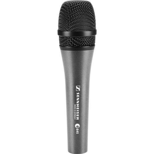 Microfone dinâmico super cardioide Vocal Sennheiser E845