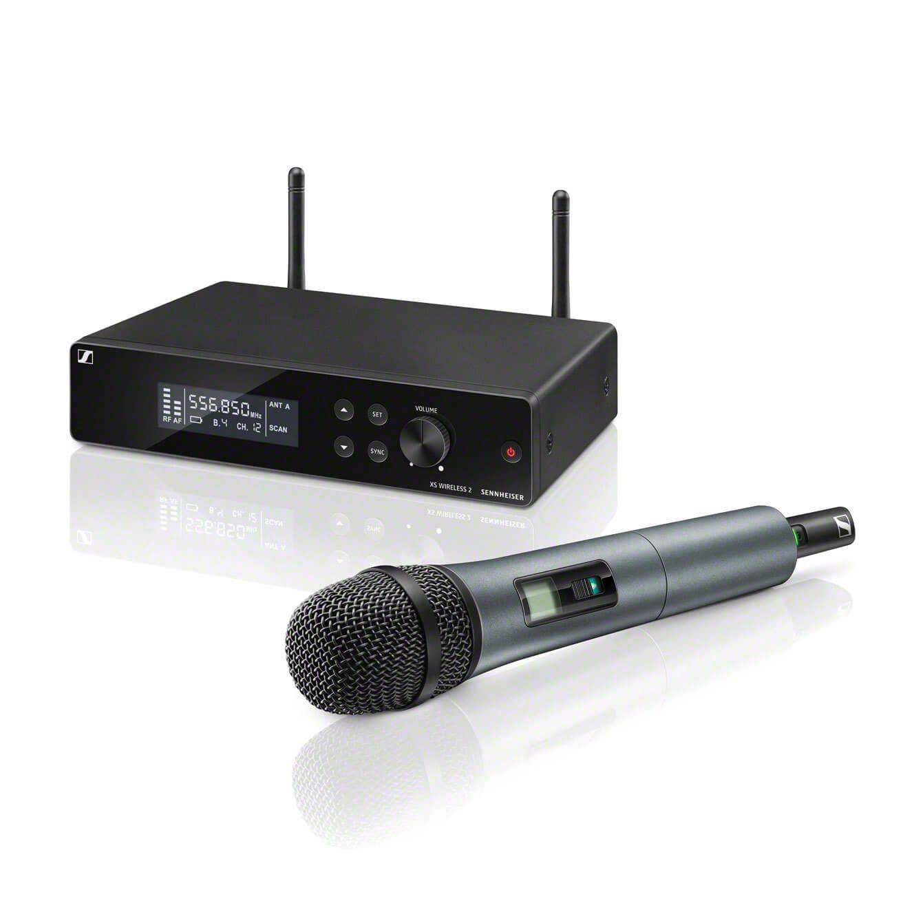 Sennheiser XSW2 835 Microfone Sem Fio Sennheiser XSW2-835 para Vocal