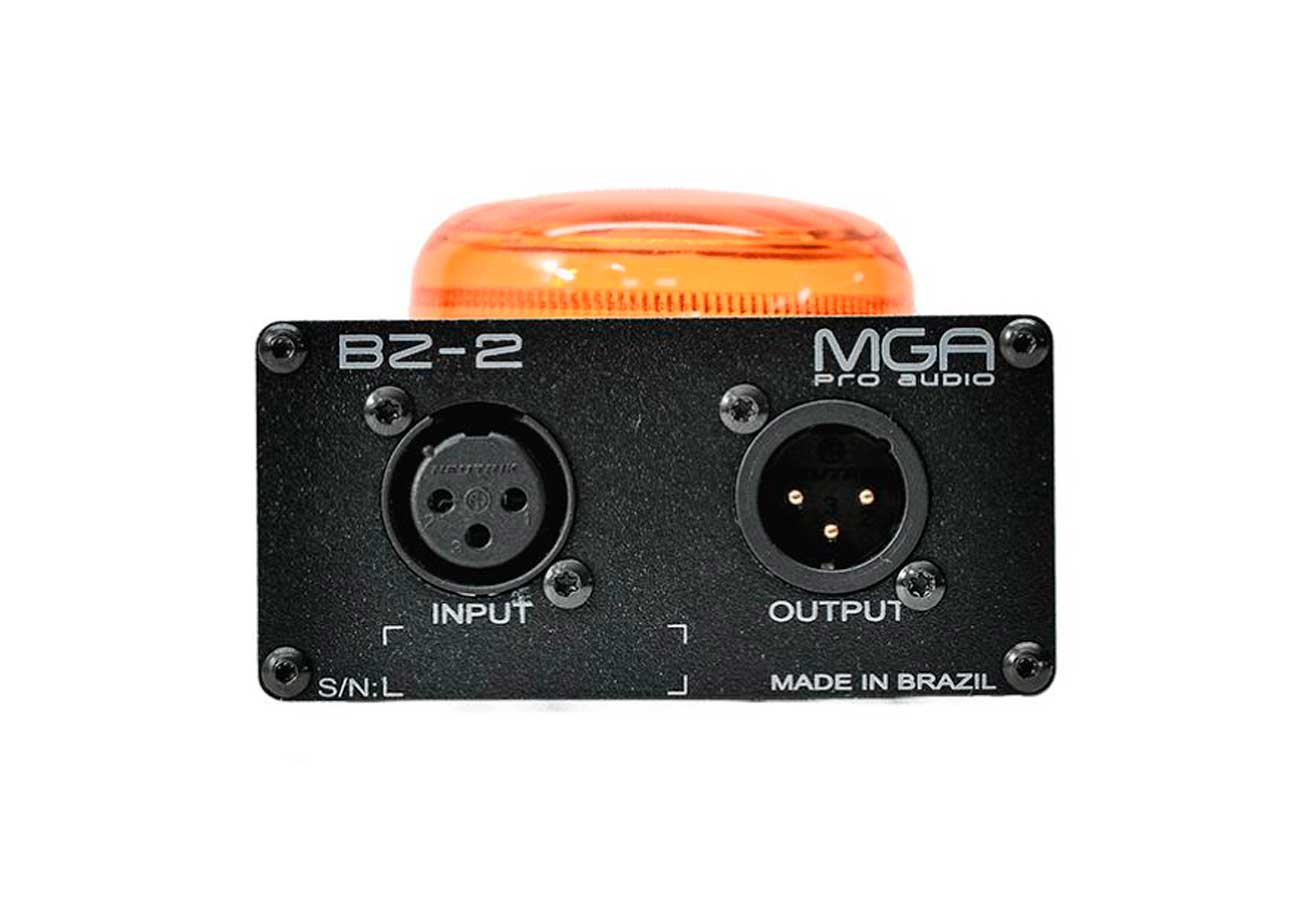 Sinalizador de LED para alerta sonoro de intercom IC-1 | MGA Pro Audio | BZ-2
