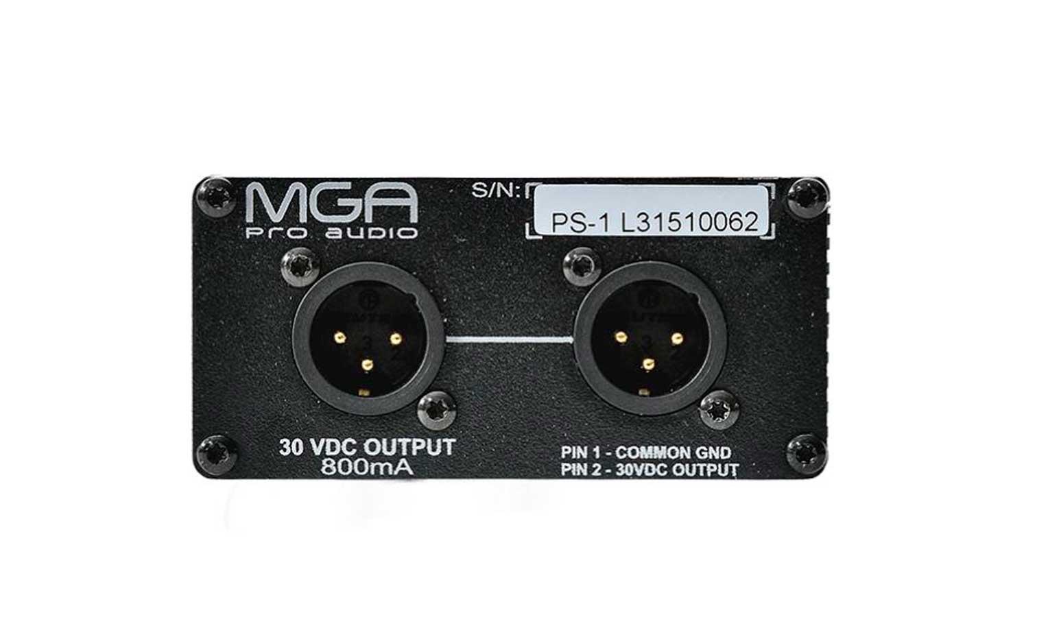 Sistema de comunicação intercom com 3 pontos | 1 Fonte, 3 Headset e 3 controles | MGA Pro Audio | SI30