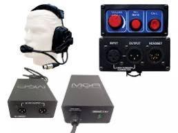 Sistema De Intercomunicação Com Fio Mga Para 3 Pessoas