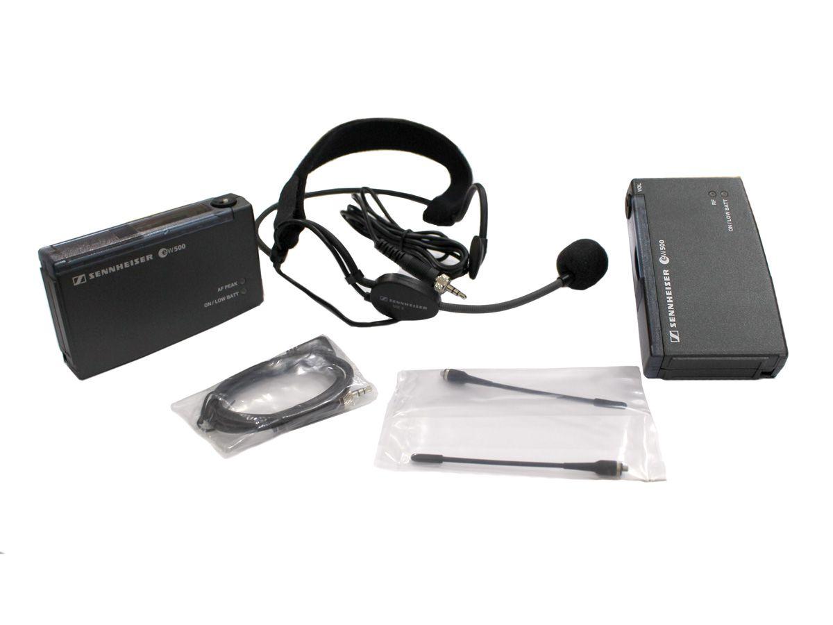 Sistema de microfone sem fio para câmera com microfone Headset | Sennheiser | EW552P-C