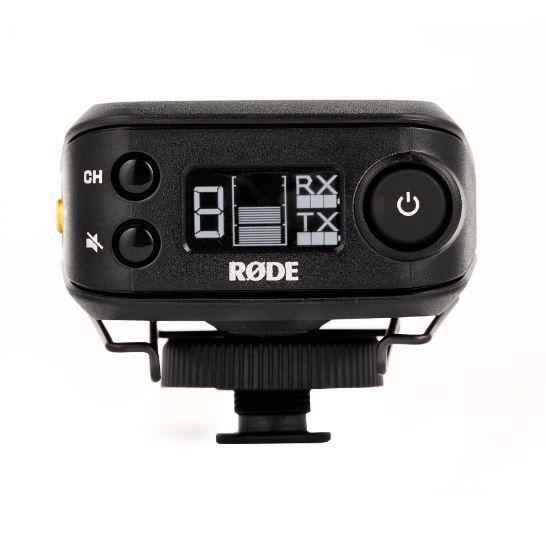 Sistema de microfone sem fio para câmera | Microfone de lapela condensador | RODE | RØDELink Filmmaker Kit