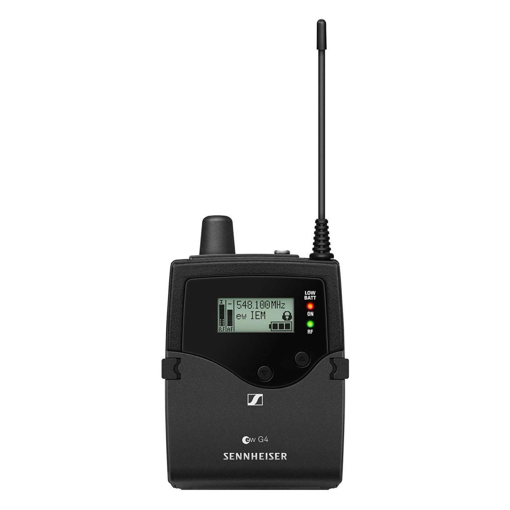 Sistema de Monitoramento Sem Fio EW IEM G4-A1 SENNHEISER