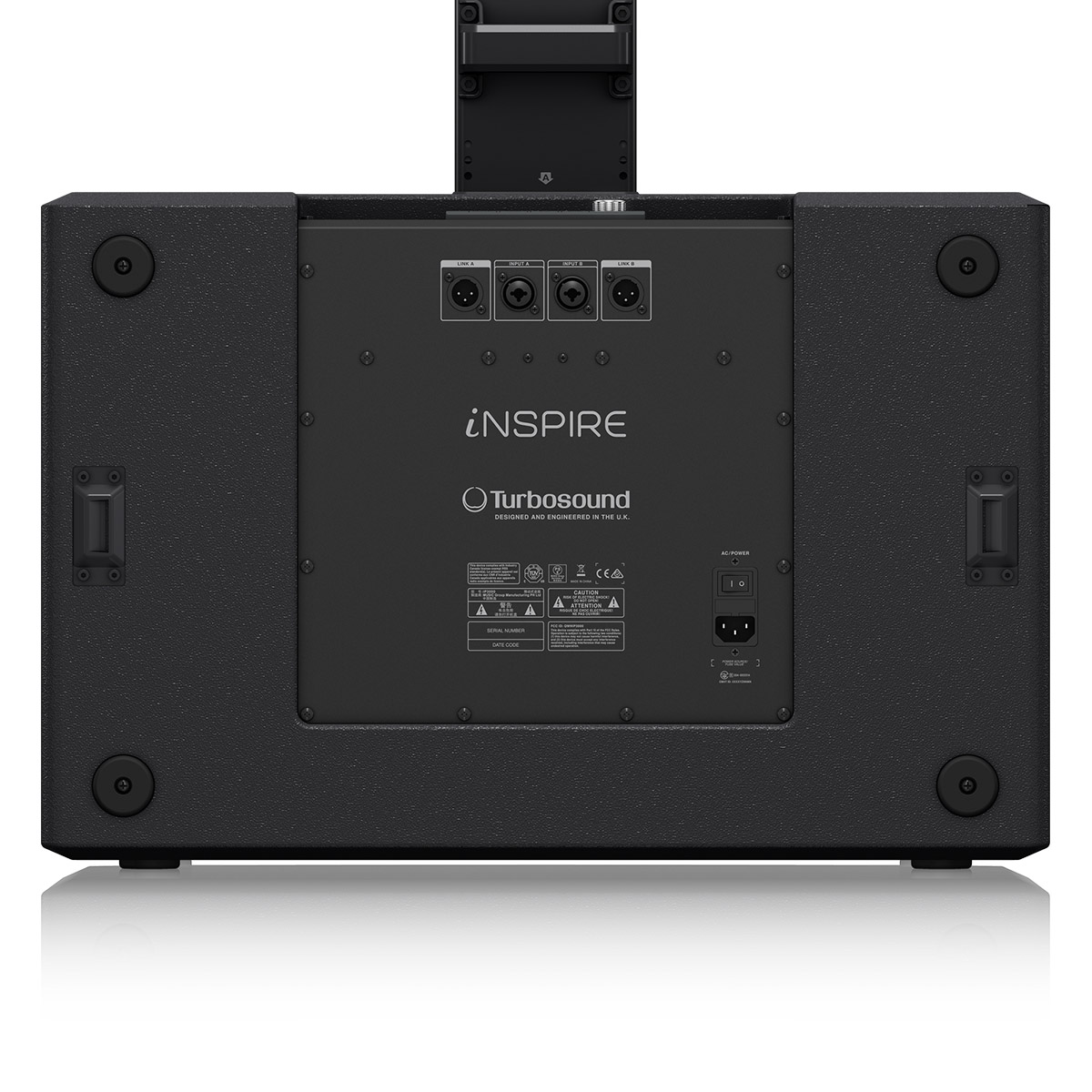 Sistema de PA portátil Ativo Turbsound iNSPIRE IP3000