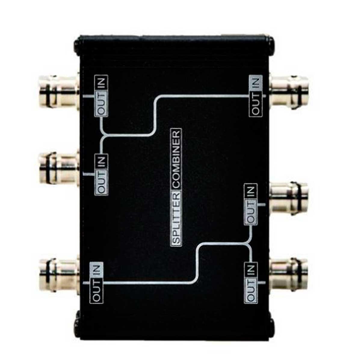 Sistema de RF para 2 microfone UHF - Splitter, Antenas e Cabos   MGA Pro Audio   AS212-5005-2075-A2