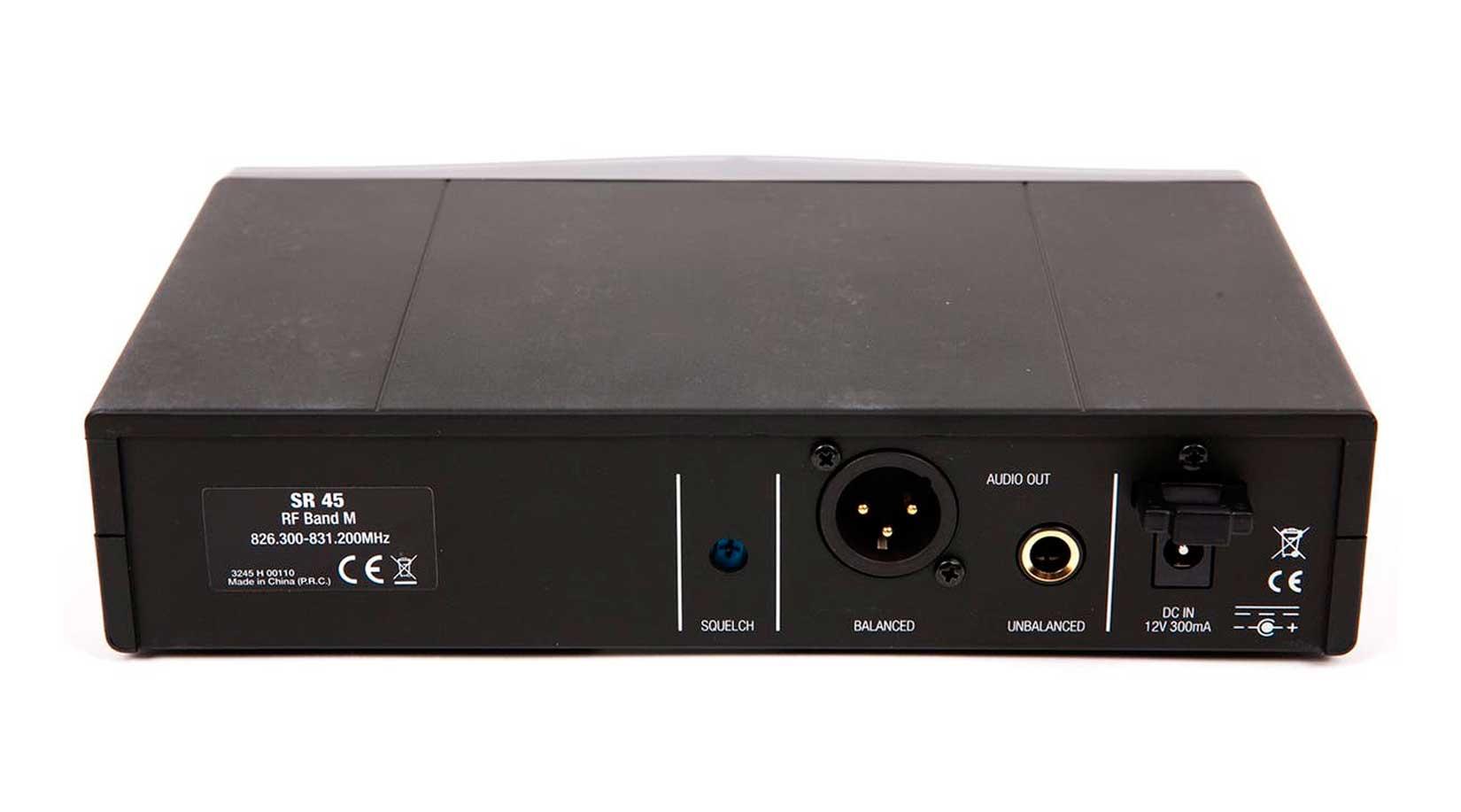 Sistema sem fio com microfone de lapela e banda de frequência A 530 - 559 MHz | AKG | P45L