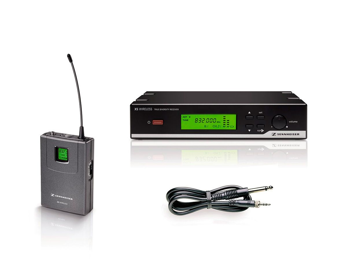 Sistema sem fio para Instrumento de corda, UHF de A-548-572 Mhz | Sennheiser | XSW-72-A