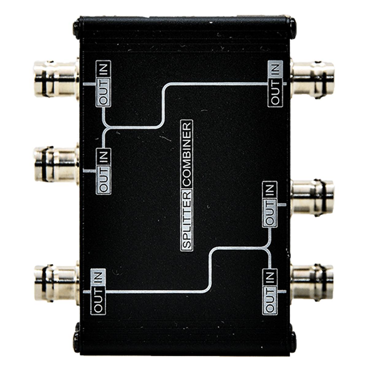 Splitter Passivo + 4 cabos para 4 microfones MGA AS212
