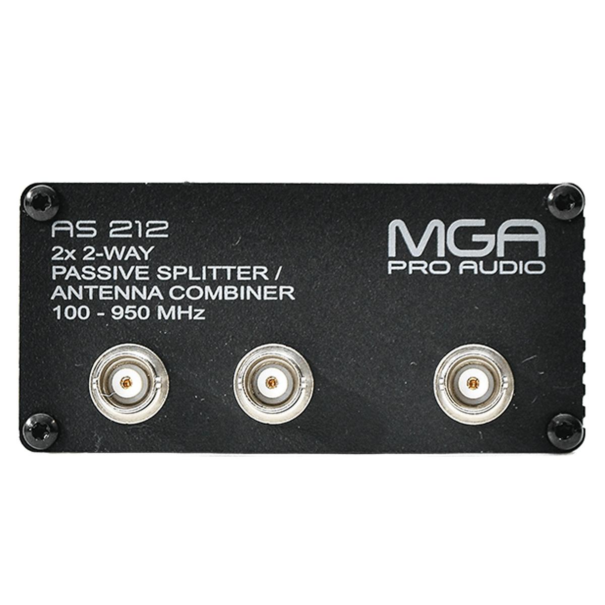 Splitter Passivo para 2 microfone e 2 antenas MGA AS212