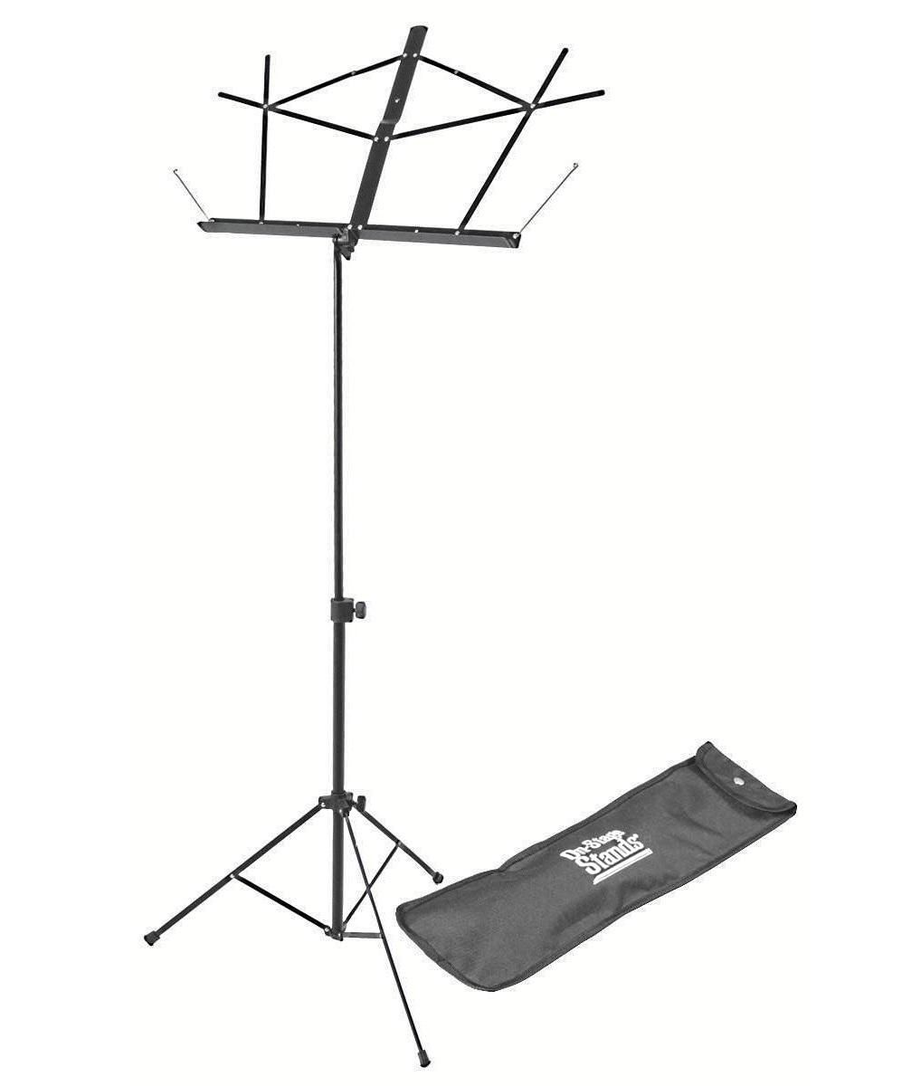 Suporte partitura compacto 66 a 115cm On-Stage SM7122BB