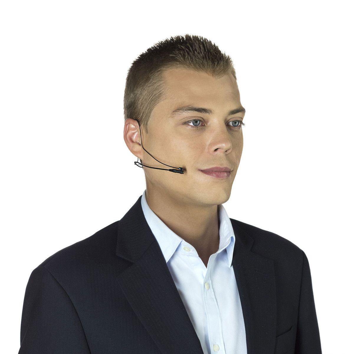 Suporte ergonômico Headset para microfone lapela RØDE Lavalier e smartLav+   RODE   Lav-Headset