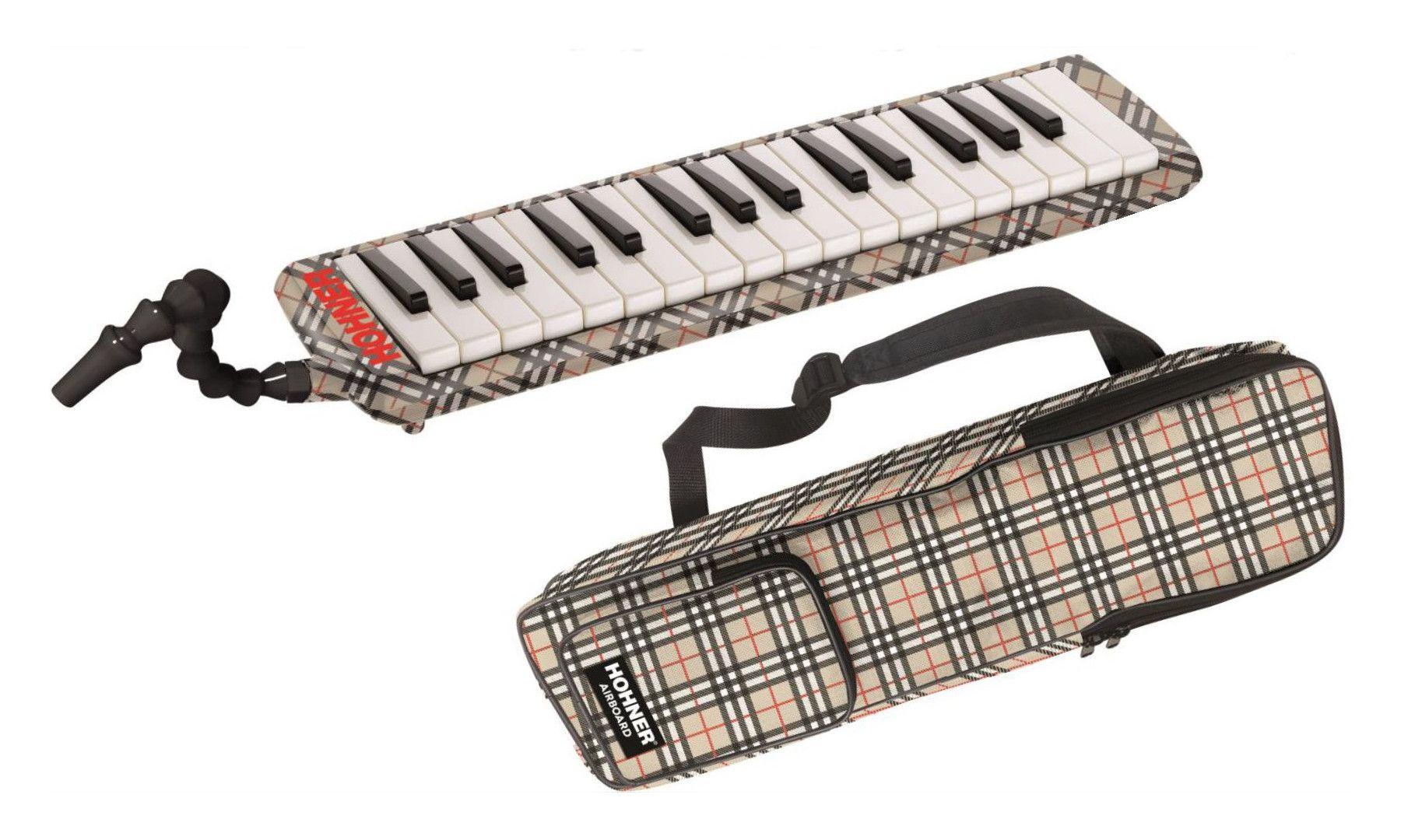 Teclado de sopro, escaleta melódica de 32 teclas | De F3 até C6 | Hohner | Remaster Airboard 32
