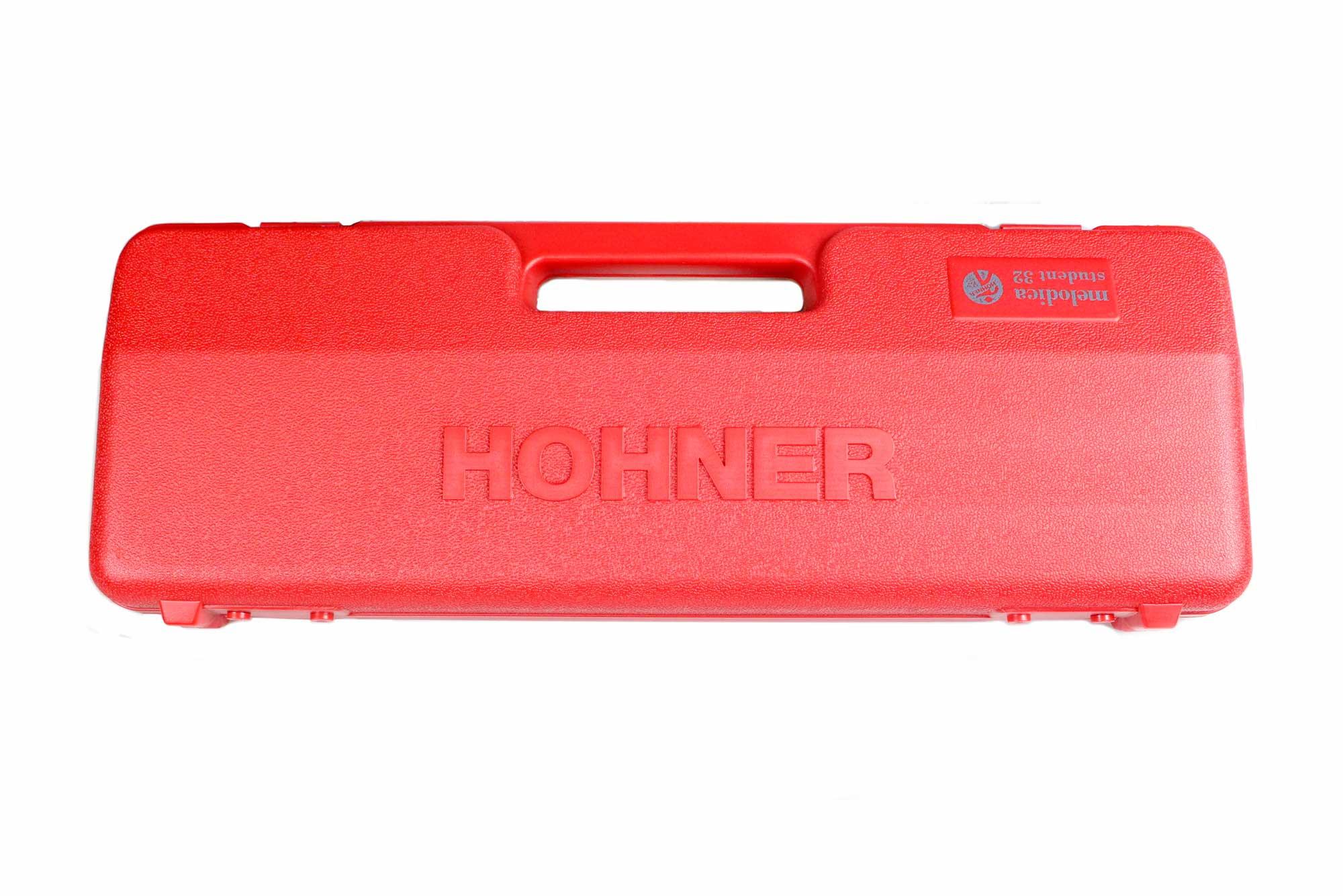 Escaleta melódica 32 teclas F3 - C6 Hohner Student Melódica 32 Red