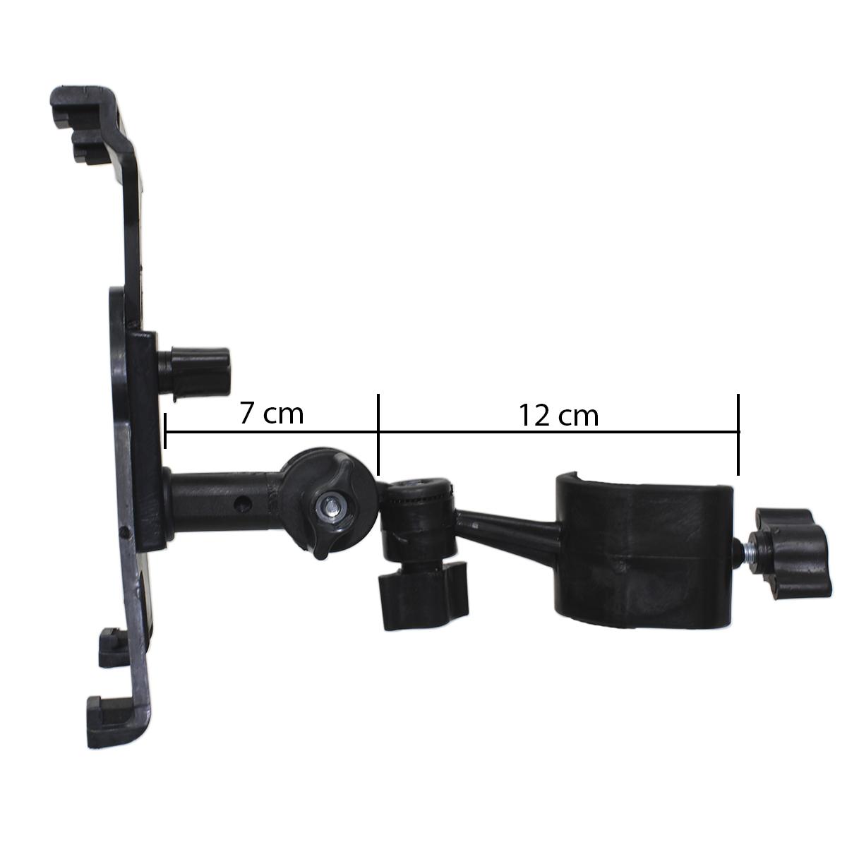 Suporte Articulado de Tablet para pedestal VECTOR IPAD10