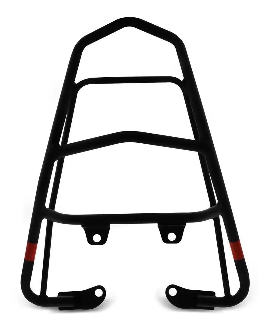 BAGAGEIRO SUPORTE BAU/BAULETO TITAN 150 FAN 160 PRETO (2014 EM DIANTE) GIVI