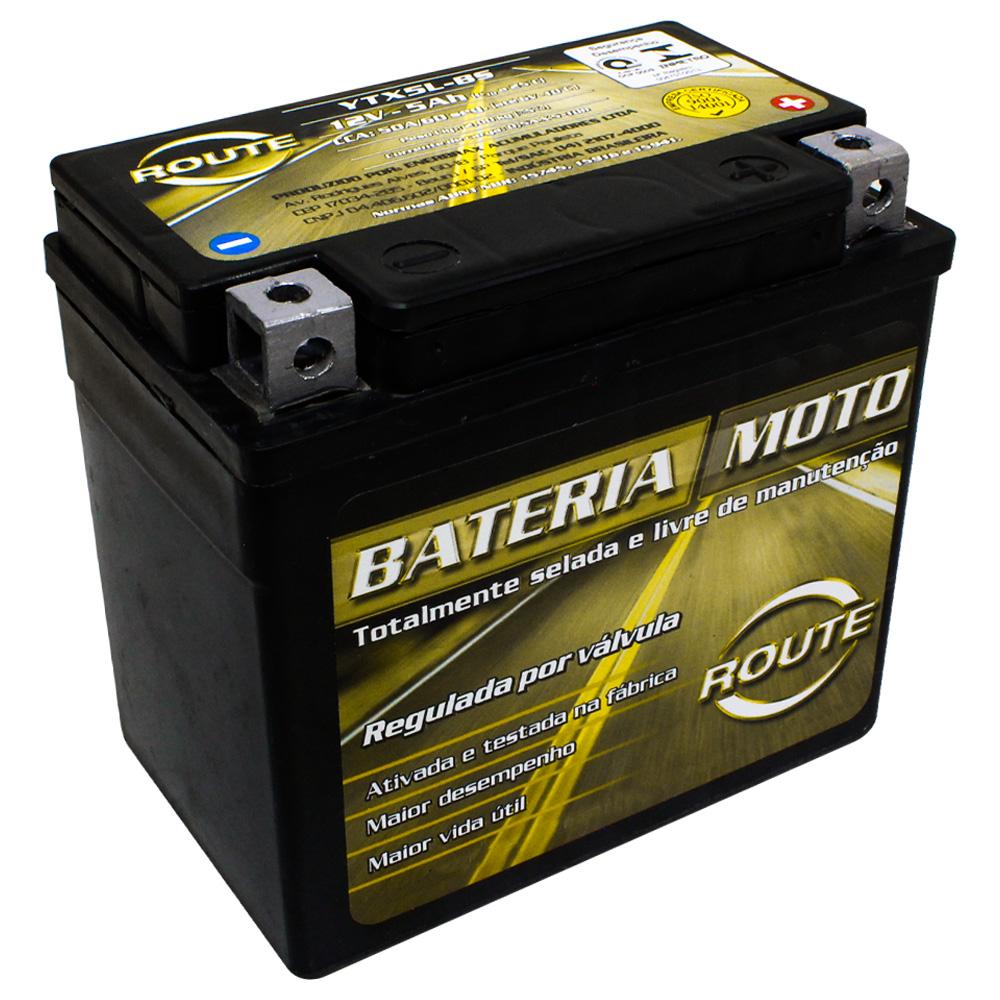 BATERIA DAFRA SUPER 100/ ZIG 50-110/ KTM 250-450 EXC (YTX5L-BS) ROUTE