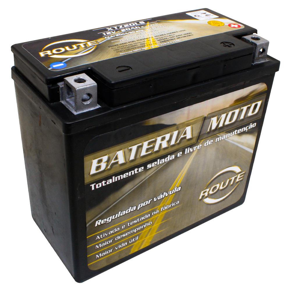 BATERIA HARLEY-DAVIDSON SPORTSTER 883-1200/ SPORTSTER 97-03/ DYNA FAT BOB 1803 CVO FXD  (XTZ20-LS) ROUTE