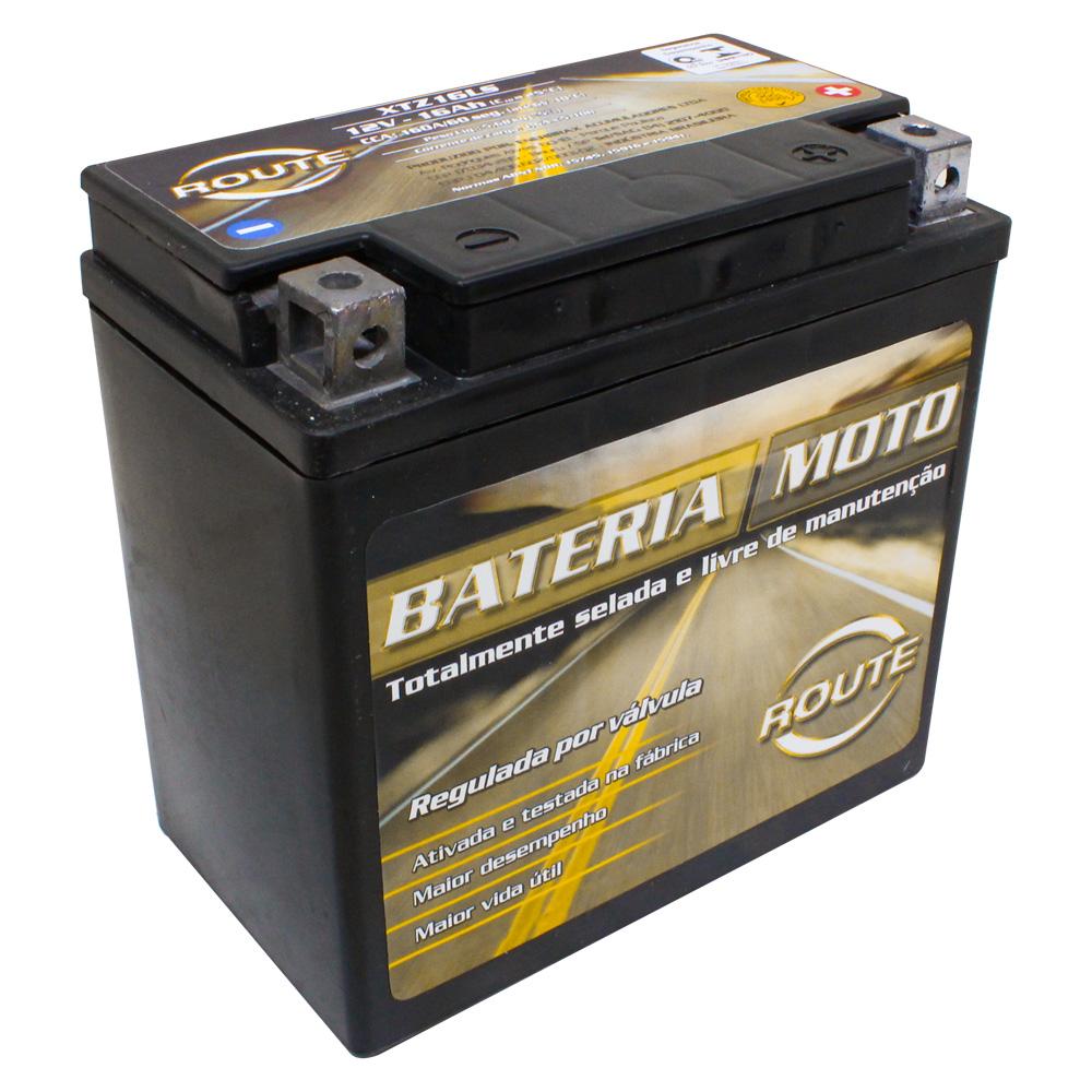 BATERIA HARLEY DAVIDSON SPORTSTER 883 XL- XLH 04 A 19/ SPORTSTER 1200 XL-XLH  (XTZ16-LS) ROUTE