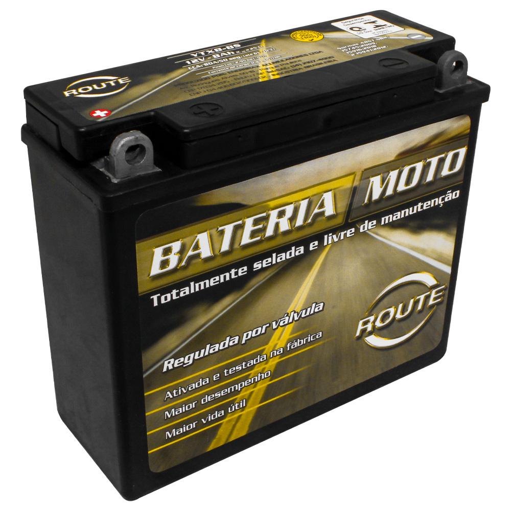 BATERIA HONDA CBX 200 STRADA/ CBX 150 AERO (YTX8-BS) ROUTE