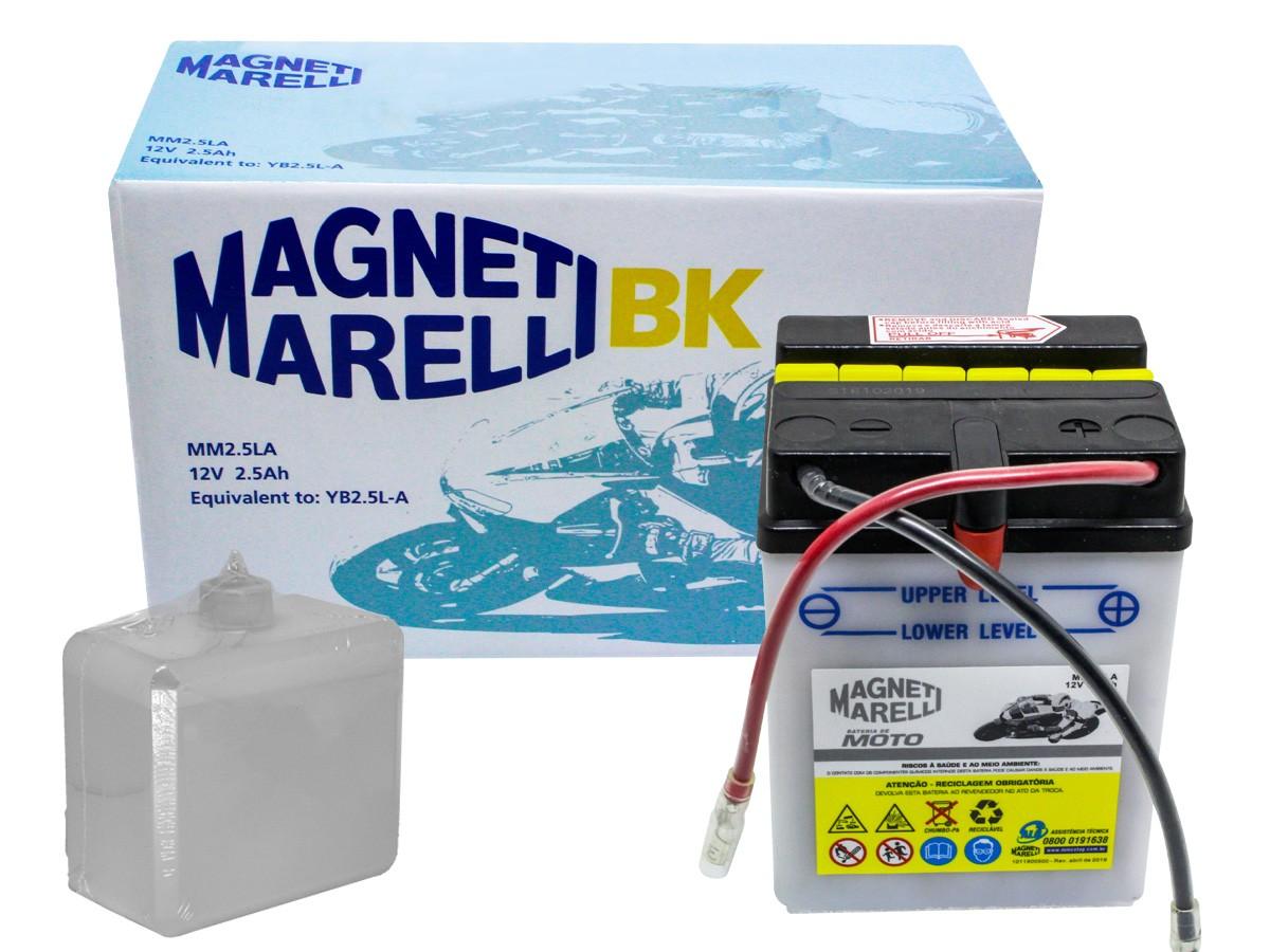 BATERIA HONDA XLR 125/ XL 125S ATÉ 1999 MAGNETI MARELLI (MM25LA)