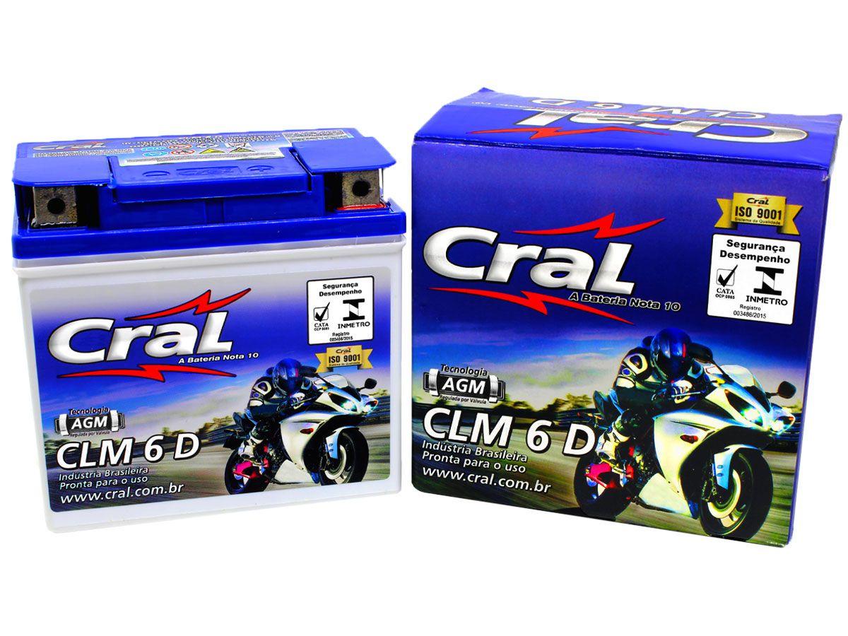 BATERIA KTM EXC 250/450- AMAZONAS AME 125 ORIGINAL CRAL(CLM6D- YTZ6V)
