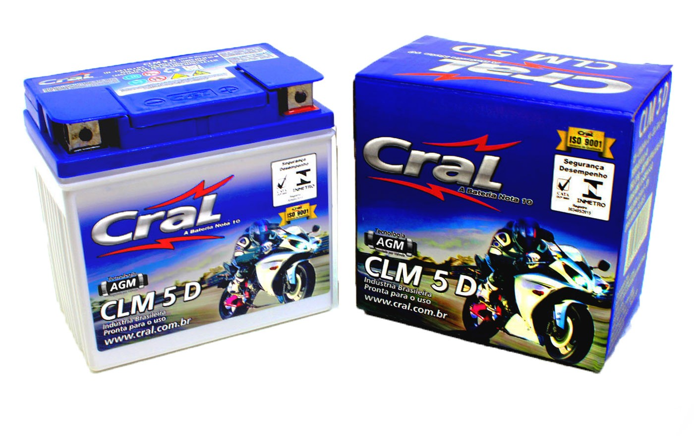 BATERIA SUNDOWN WEB100/ AKROS 50CC/90CC/ SPEED 90 ORIGINAL CRAL(CLM5D-YTX5LBS)